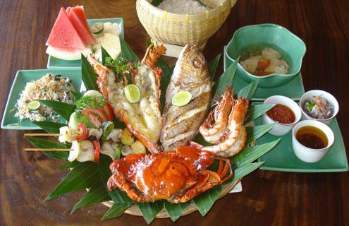 Jimbaran Bay seafood